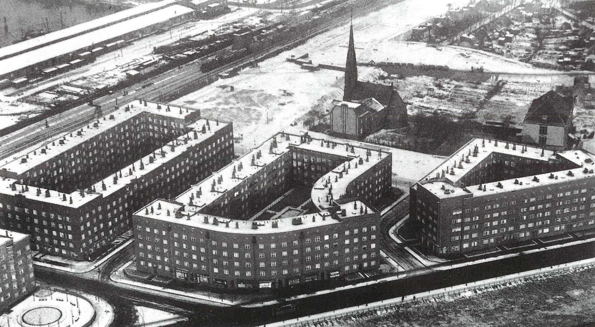 Kleinwohnungsblock Veddel - Limbrock Tubbesing Architekten